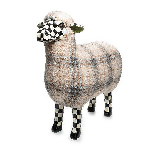 Tartan Sheep - Blue