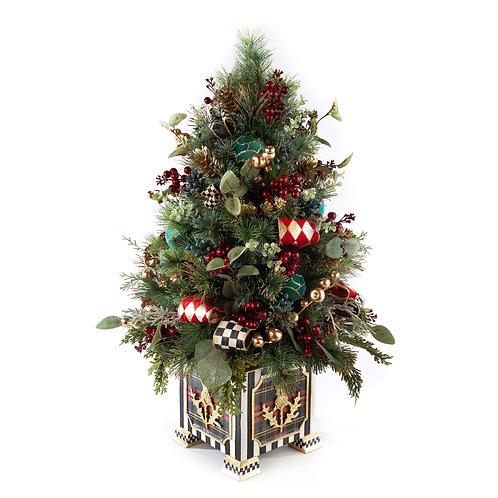 Happy Holidays Tabletop Tree