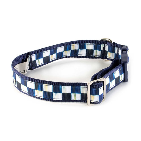 Royal Check Pet Collar - Medium