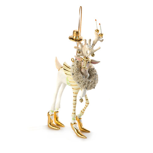 patience brewster moonbeam prancer reindeer ornament