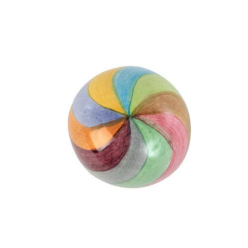 Dot Knob - Multi Swirl