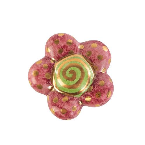 Super Swirl Floral Knob