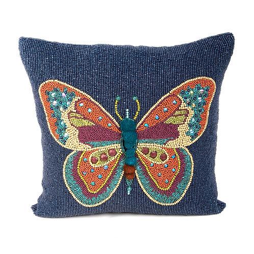 boheme butterfly pillow