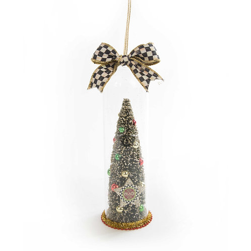 Peace cloche ornament