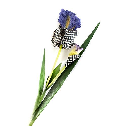 Courtly Check Iris - Purple