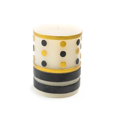 jester pillar candle - 4'
