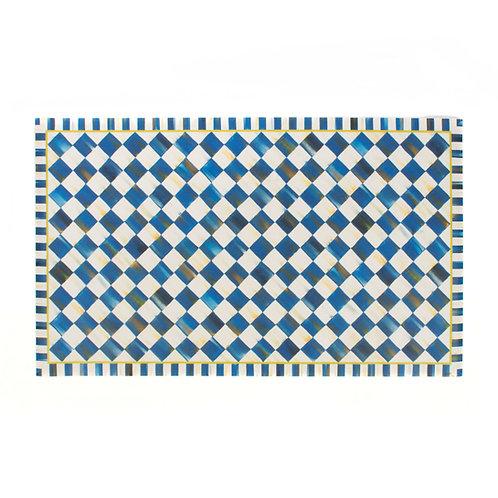 Royal Check Floor Mat - 3' x 5'
