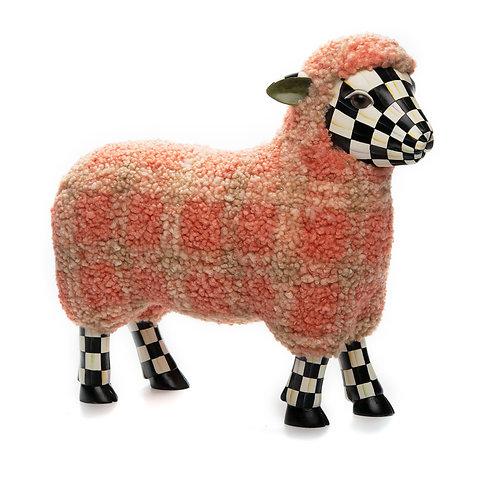Tartan Lamb - Pink