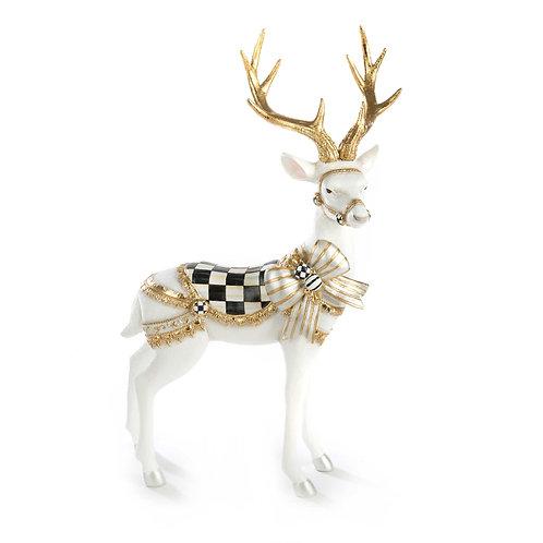 White Bow Tie Deer - Standing