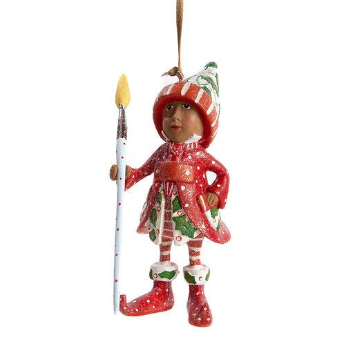 Patience Brewster Dash Away World Vixen's Elf Ornament