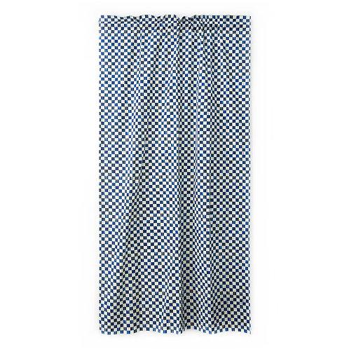 Royal Check Curtain Panel