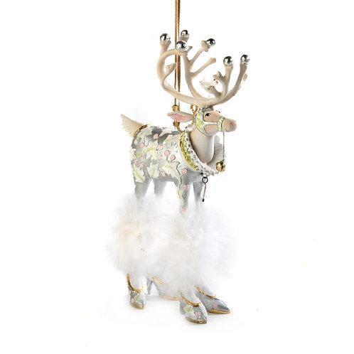 patience brewster moonbeam vixen reindeer ornament