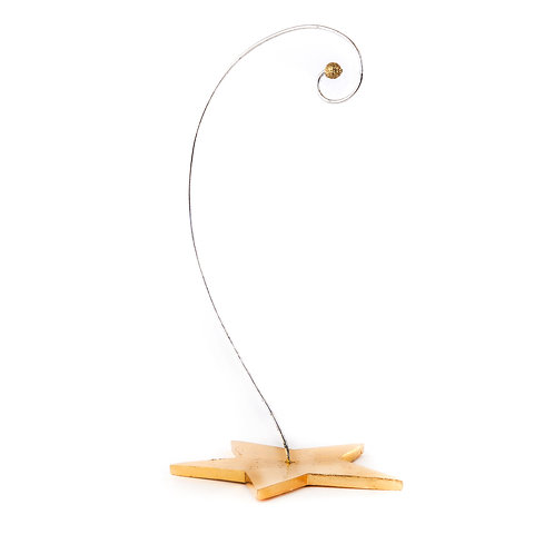 Patience Brewster Golden Star Ornament Stand