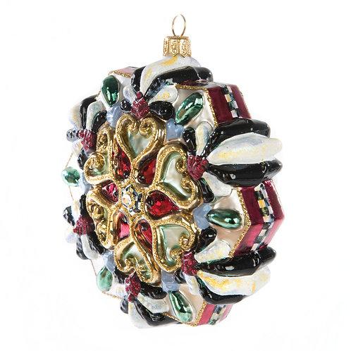 Glass Ornament - Snowflake