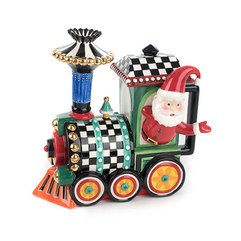 Christmas Train Teapot