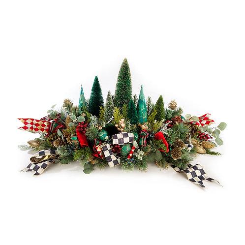 Happy Holidays Mantel Piece
