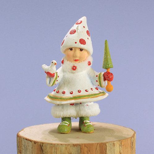 Patience brewster dash away blitzen's elf mini ornament