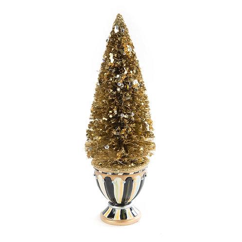 Precious metals bottle brush tree - small