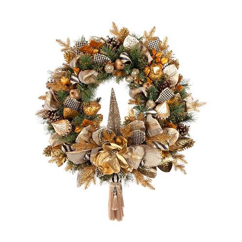 Golden Hour Wreath