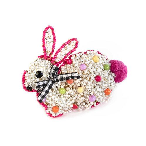 Dotty Bunny Napkin Ring