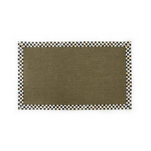 Courtly Check Olive Sisal Rug - 3 Ft. X 5 Ft.