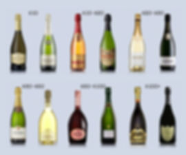 Champagne prices, brands