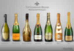 Champagne brands, styles, vintages
