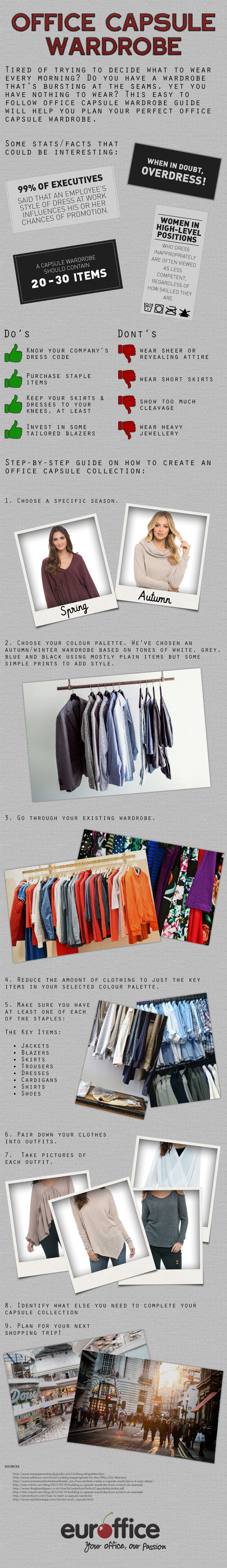 101 on Putting Together a Killer Office Capsule Wardrobe