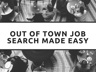 Out Of Town Job Search Made Easy