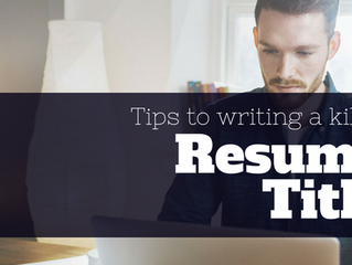 3 Ingenious Tips to Help You Write a Magnetic Resume Title