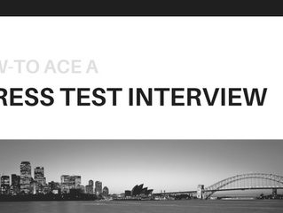 Nifty Tips to Champion the Stress Test Interview