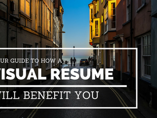 Why A Visual Resume May Just Be Your Best Choice Yet