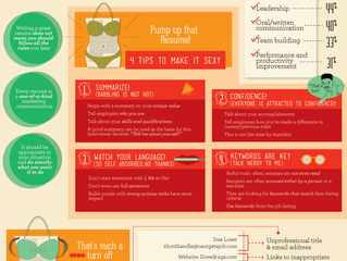 The Anatomy of a Great Info-graphic Resume