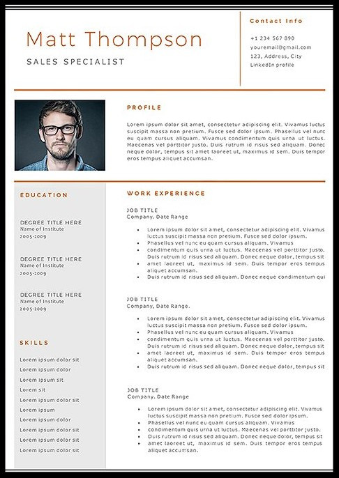 7 Simple Resume Templates to Help You Raise Your Resume Game in 2017