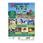 Limestone Coast Community Festival Logo.