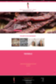 Felicia's Gourmet Jerky Website Design