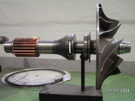 Sulzer Impeller Shaft 28CX Compressor