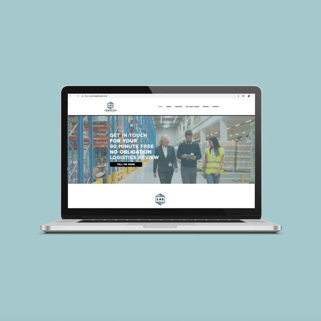 LOGISTICS ADVISORY SERVICES Website Design