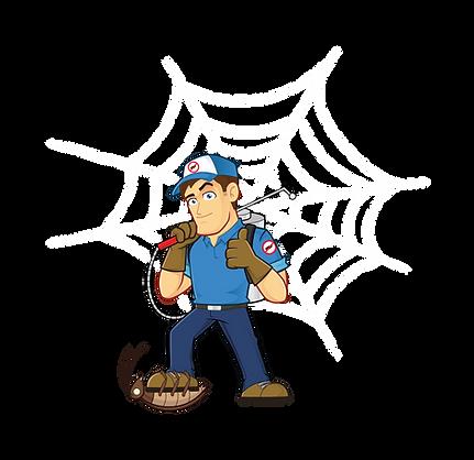 Spiderman SE - Eco Pest Management Logo