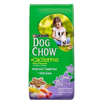 DOG CHOW Cachorro Raza Pequeña 2 Kg