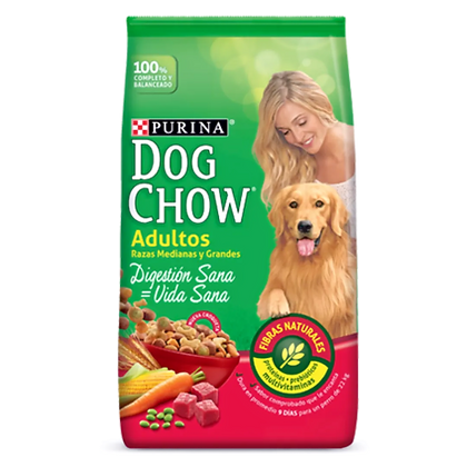 DOG CHOW Adulto Raza Grande 8 Kg