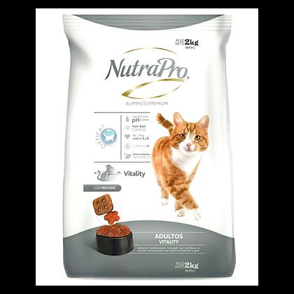 NutraPro Gatos Adultos Vitality 2 Kg