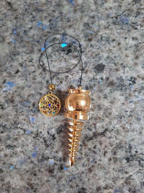 Prayer Pendulum Gold