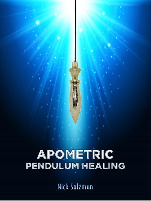 Apometric Pendulum Healing Spiral bound book