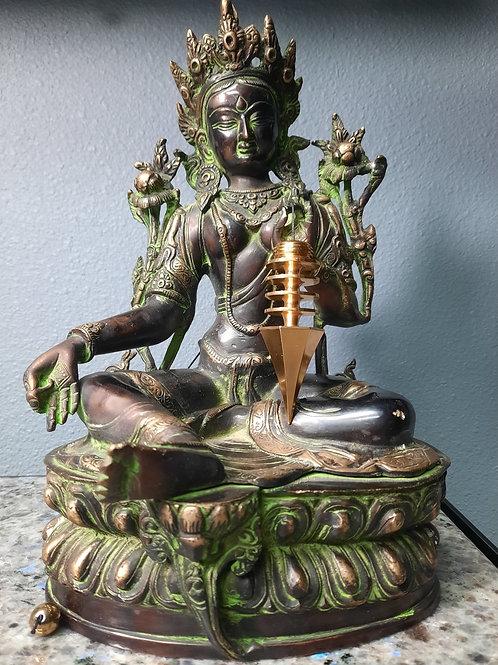 Gold Plated Phurba Pendulum