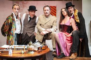 Comédiens du Secret de Sherlock Holmes