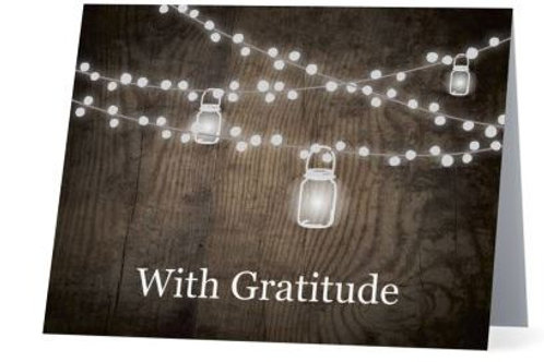 With Gratitude Cards