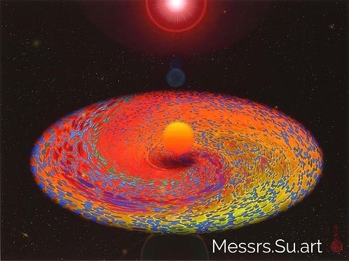 The Becoming Planet on the Accretion Disk