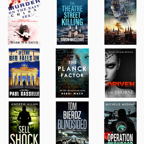Free Thrillers for Christmas!