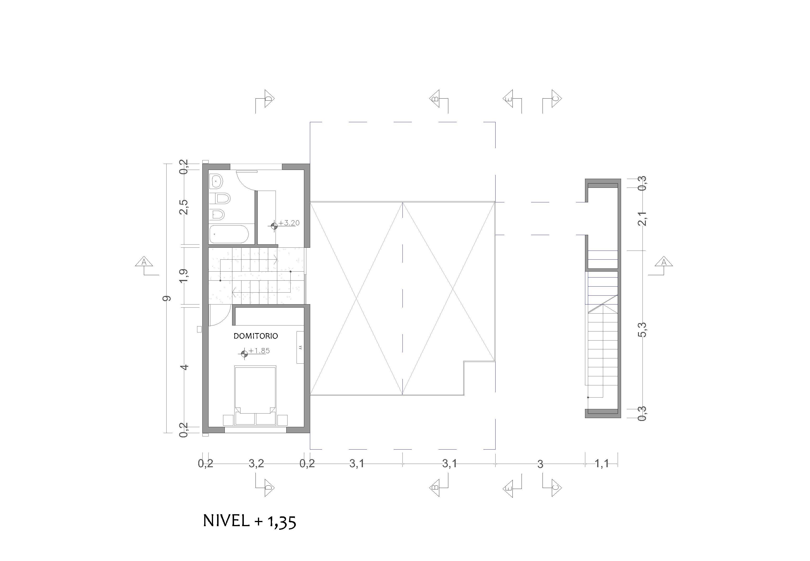 NIVEL 1.35MTS